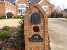 brick mailbox designs ideas - Brick Mailbox Designs Ideas – Olena ...