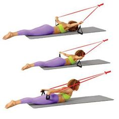 7 Major Pilates Moves for All-Over Toning using resistance bands