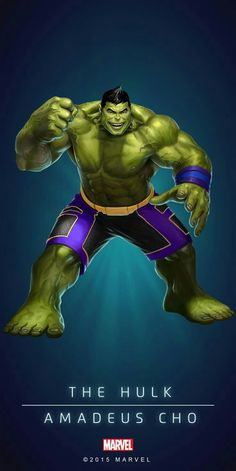The Hulk Amadeus Cho