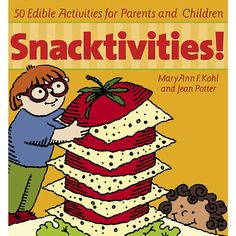 """Snack on this """"Snacktivity!"""" Find out how to make your very own Jack Frost Treat! #cooking #kids"""