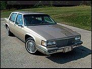 1987 Cadillac Sedan Deville $4,000