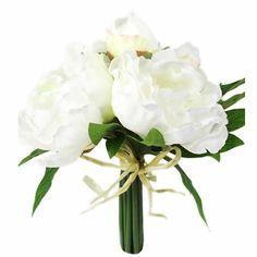 - Pionbukett - Vit - 25 cm från Mr Plant kr Vase, Interior, Plants, Decor, Shop, Decoration, Indoor, Interiors, Plant