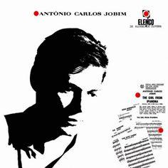 Capa do disco de Tom Jobim de 1964, lançado pelo selo Elenco e projetado por César Villela