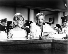 Brian Keith & Doris Day (With Six you get Eggroll 1968) Howard Morris. Photo Paramount Pictures.