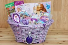 DIY Disney Easter Baskets - Sofia the First, Marvel, and Disney Princess DIY Easter Baskets Inspiration