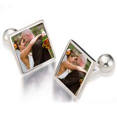 "Wedding Cufflinks $149.00 Size: 1/2"" x 1/2"" It is a heartfelt moment when a Father walks his daughter down the aisle."