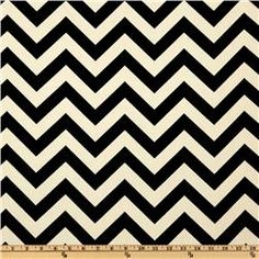 "Premier Prints ""zigzag in ebony"" for the crib quilt (see: zig zag faux chenille tutorial)."