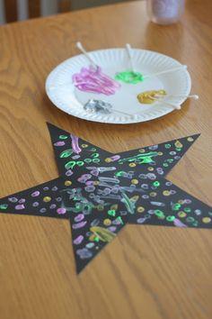 Star Pre-Writing Activities for Preschoolers - June Writing Activities For Preschoolers, Planets Activities, Space Activities For Kids, Space Theme For Toddlers, Learning Activities, Crafts For Preschoolers, Outer Space Crafts For Kids, Space Kids, Stem Activities