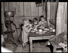 1936- Christmas dinner. I am thankful for what we have although sometimes I feel we have nothing. Images like this put me back in check.