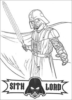 Star Wars coloring pages--free