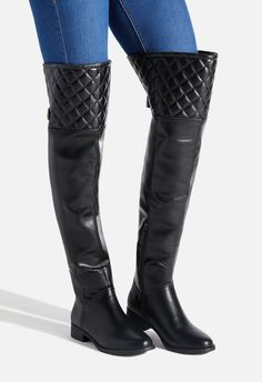 9a557c9535f7 Aveline Quilted Flat Boot. Flat BootsShoe DazzleOver The ...