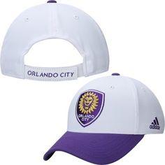 Men's Orlando City SC adidas White/Purple Jersey Hook Structured Adjustable Hat Soccer Online, Orlando City, Major League Soccer, Black Friday Deals, Cyber Monday, Baseball Hats, Toe, Adidas, Purple