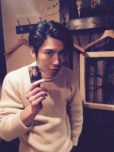 How To Look Better, Men Sweater, Japanese, Actors, Sweaters, Star, Beautiful, Beauty, Woman