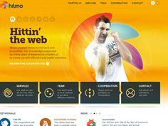 Inspiração web: amarelo - Choco la Design