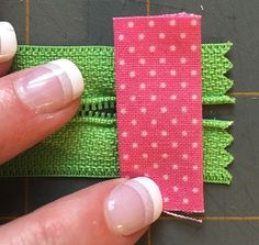 Zippered makeup pouch and pencil pouch tutorials