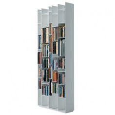 Bibliothèque Random Blanche - MDF Italia