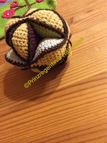Amish Puzzel Ball Deutsch; Dedri Uys; Look at what I made; Foto anleitung;