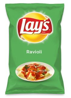 Wouldn't Ravioli be yummy as a chip? Lay's Do Us A Flavor is back, and the search is on for the yummiest flavor idea. Create a flavor, choose a chip and you could win $1 million! https://www.dousaflavor.com See Rules.