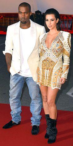 KANYE WEST & KIM KARDASHIAN photo | Kanye West, Kim Kardashian