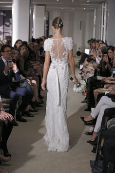 Back Detailing #CarolinaHerrera #Bridal
