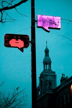 Comic Book Street Lamps by Turn Me On Design