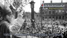 Aankomst van Sinterklaas in Tilburg (1950)