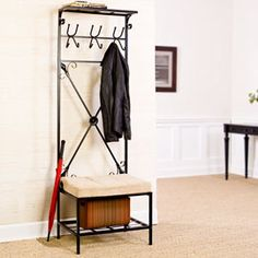 Solutions - Entryway Bench/Storage Rack
