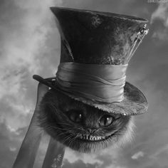 mad hatter and cheshire cat | Mad Hatter Cat Pictures, Photos, and Images for Facebook, Tumblr ...