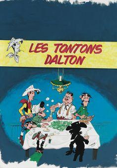 Achdé (né en 1961) Lucky Luke, Les tontons Dalton | Lot | Sotheby's