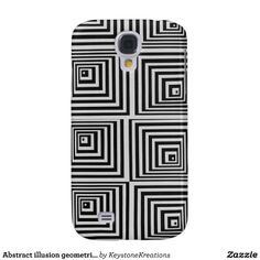 Abstract illusion geometric iphone case galaxy s4 cover