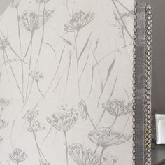 Changing screen from The Dormy House in our Putsborough Cowparsley and Devon Rockpool fabrics. Perfect for getting dressed behind on this sunny morning **** * * Changing Screen, Interior Styling, Interior Design, Rock Pools, Scatter Cushions, Grey Fabric, Devon, Bathrooms, Fabrics