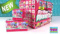 My Mini Mixie Q's Series 1 2 Pack Blind Bag Box Opening Toy Review | PST...