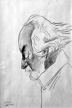JOSÉ NORBERTO GALAY. El filósofo de las estructuras, retratado por el maestro Hermenegildo Sábat.