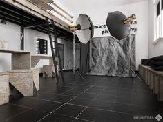 Minimal OSB photo studio