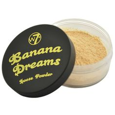 Banana Dreams is a finely milled, translucent powder with a pale yellow tone. Containing silica, Banana Dreams is the ideal product for setting make-up, camouflaging undertones and contouring without giving off a cakey look. Ben Nye, Makeup Blog, Makeup Dupes, Makeup Stuff, Cute Makeup, Party Makeup, W7 Cosmetics, Formal Makeup, Make Up