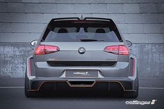 New Review Oettinger Volkswagen Golf R500 Release Rear View Model