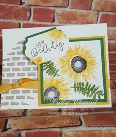 Hello stamping friends!   I know that you all love hearing from me AND I know you love LOTS of inspiration in just one post! I decided t...