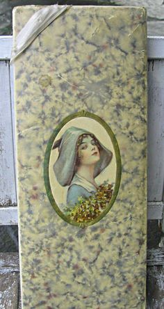 Here's an example of a nice flapper candy box.