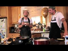 """Stephen and Eric cook up some mischief along with their """"favorite"""" dishes. Part 1    Buy Love and Theft's self-titled album at iTunes - http://budurl.com/pp8d.    Follow Love and Theft on Facebook - http://budurl.com/js9p - and Twitter - http://twitter.com/loveandtheft. To find upcoming shows visit Love and Theft on the web at http://www.loveandtheft.com/us."""