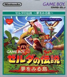Zelda no Densetsu: Yume o Miru Shima / Game Boy / Nintendo / 1993