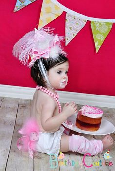 OvertheTop Glam Pink Cupcake Birthday Party by birthdaycouture, $50.00
