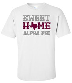 Alpha Phi Sweet Home Tee from GreekGear.com