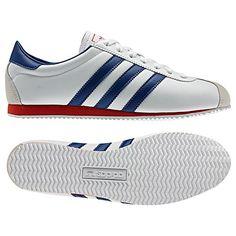 Women's Adidas Originals - Bluerun W - White/Powder Blue