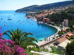 Explore the unique landscape of the French Riviera. Pictured: Villefranche, France.