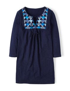 I'm not so into tunics, but I like the shape and embroidery. Maybe it if was shorter...