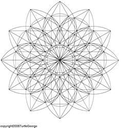 sacred geometry. Geometría Sagrada