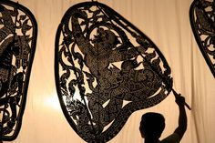 Cambodian shadow puppet