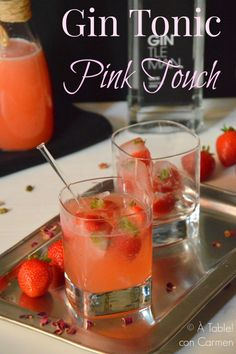 """À table ! con Carmen: Gin Tonic """"Pink Touch"""""""
