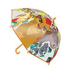 """Disney 240000033145cm rey león Simba y sus amigos de Disney """"Junior paraguas - http://comprarparaguas.com/baratos/disney/disney-2400000331-45-cm-rey-leon-simba-y-sus-amigos-de-disney-junior-paraguas/"""