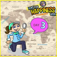 It's Day 3 of ‪#‎HuntforHappiness‬ Week. If you want an extra smile pick one of our three activities. Let us know which one you picked. http://sohp.com/hunt-happiness-day-3-activities/